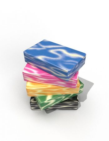 Cold Process Marbled Soap Bars